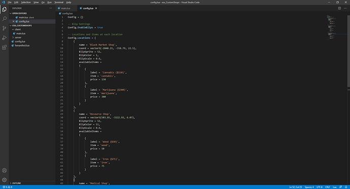 config.lua - esx_CustomShops - Visual Studio Code 5_2_2021 5_33_23 AM