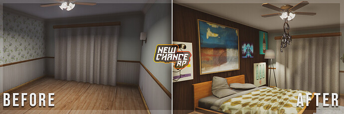 Housing Before & After