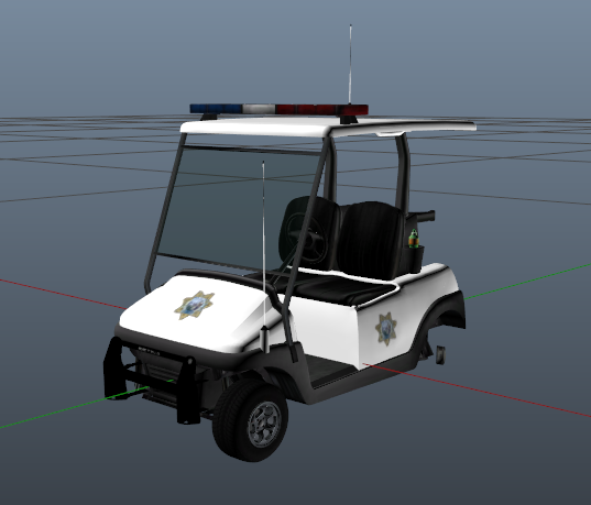 Release] SAHP Police Golf Cart - Releases - Cfx.re Community