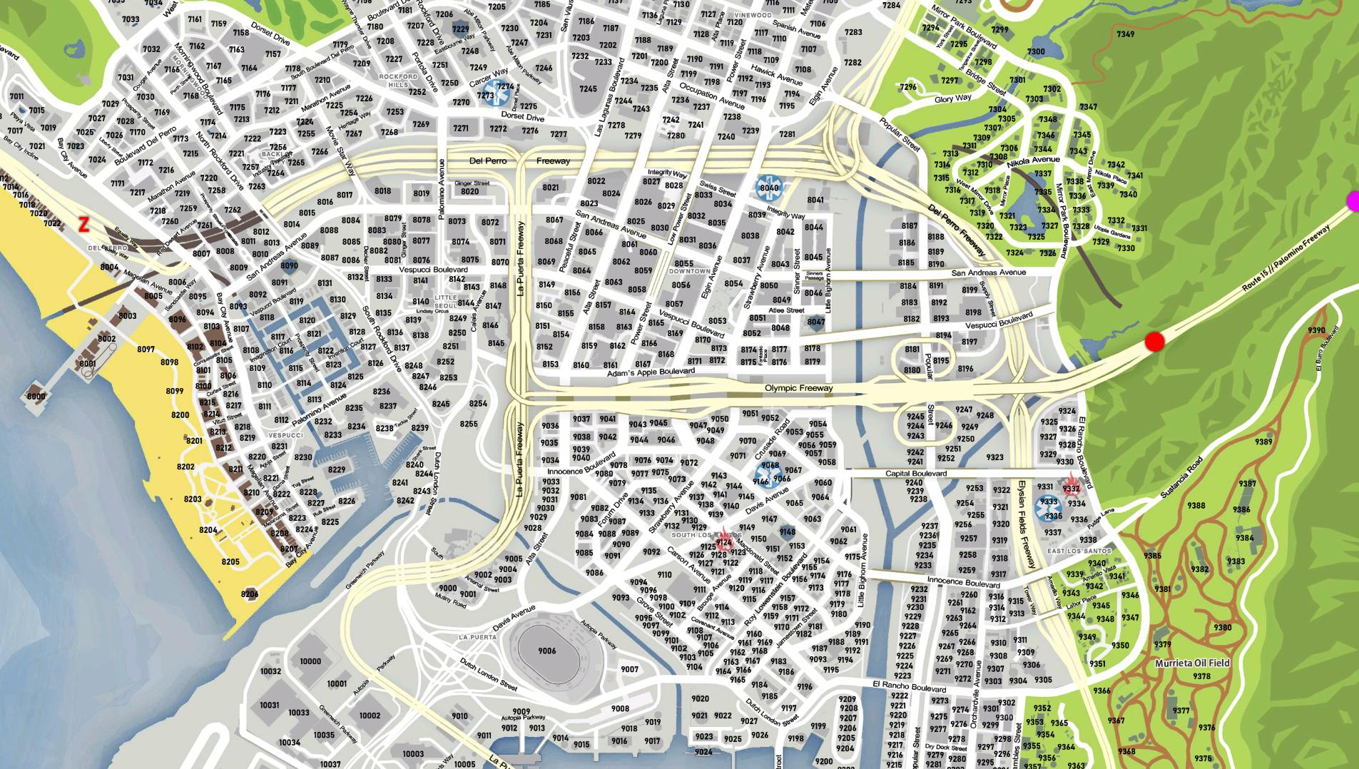 gta postal code map pdf