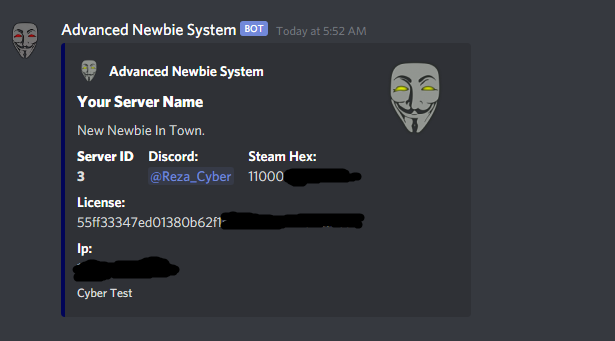 Discord Webhook