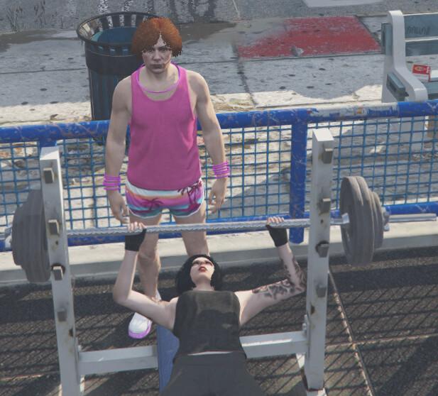 [ESX]Fitness, BMX Competition & Beach Activities