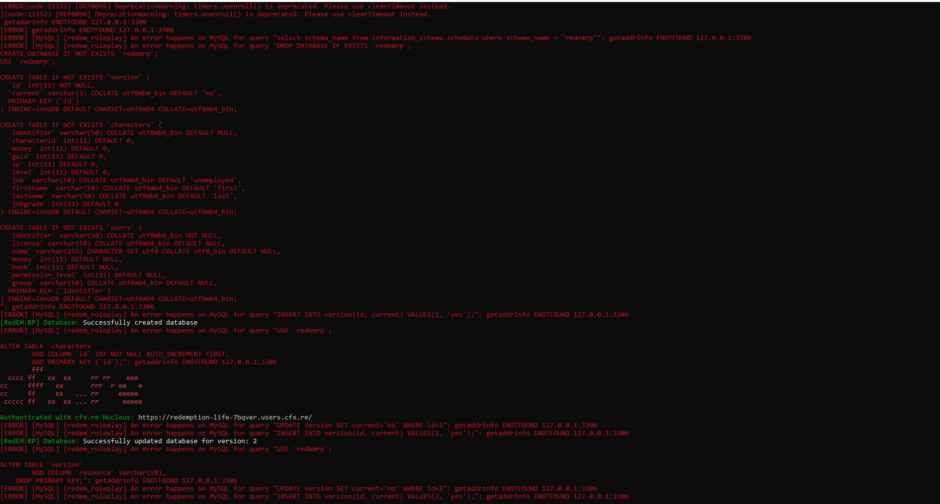 The Database Cannot Be Connected To The Server Server Support